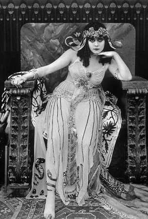Thera Bara (Arabian Death), from the movie Cleopatra 1917 by J. Gordon Edwards